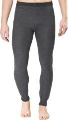 Woolpower - Long John 200 - Lange onderbroek maat L, zwart/grijs