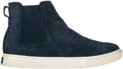 Blue Polo Ralph Lauren Polacchine stivaletti scarpe uomo camoscio jonny