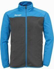 Kempa prime poly jacket kind antraciet kempa blauw maat