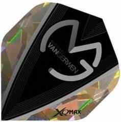 Xq Max Michael Van Gerwen Flights Standard A Zilver 3 Stuks