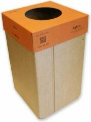 KarTent - Kartonnen 240L Kliko - Blauwe Deksel - Duurzaam Karton