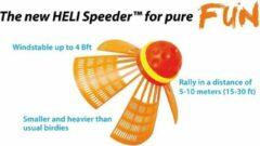Oranje Speedminton Speedertube Heli