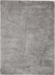 Kayoom - Hoogpolig vloerkleed - Bali 110 - Zilvergrijs - 160x230cm