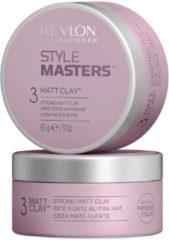 Revlon Professional Haarpflege Style Master Matt Clay Strong Matt Clay 85 g