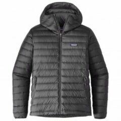 Grijze Patagonia - Down Sweater Hoody - Donzen jack maat XXL zwart/grijs