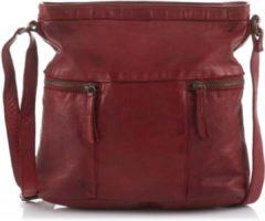 Rode Beardesign Bear Design CL 35556 schoudertas rood