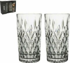 Transparante Gusta® Longdrink glazenset 2dlg