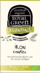 Royal Green Royal groen Iron Complex Capsules 60st
