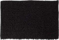 Antraciet-grijze Sealskin Twist Badmat Polyester 60x90 cm Antraciet