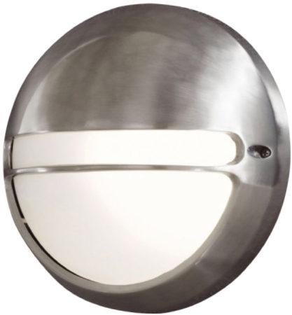 Afbeelding van Konstsmide Torino 7333-000 Buitenlamp (wand) Energielabel: Afhankelijk van de lamp Spaarlamp, LED E27 60 W Aluminium (geborsteld)