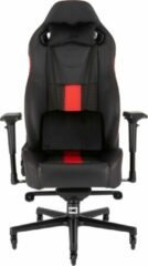 Corsair T2 Road Warrior - Gamestoel - Zwart / Rood