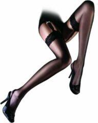 Aristoc Sensuous 10 denier Lace Top Stockings - Medium - Zwart