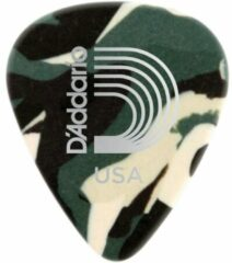 D'Addario 1CCF2-10 Camouflage celluloid plectra 10 pack light