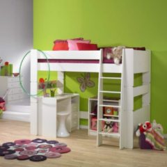Witte Home24 Stapelbed Steens for Kids I, Steens