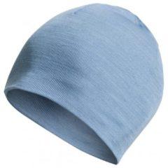 Blauwe Woolpower - Beanie Lite - Muts maat One Size grijs/blauw