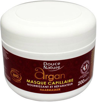 Afbeelding van Douce Nature Haarmasker capillaire argan 200 Milliliter