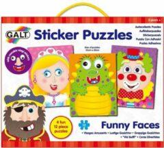 Galt - Puzzels - Grappige gezichten - 4x12st.