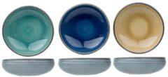 Blauwe Cosy&Trendy Cosy & Trendy Oviedo Kommetjes 6 Stuks In 3 Kleuren