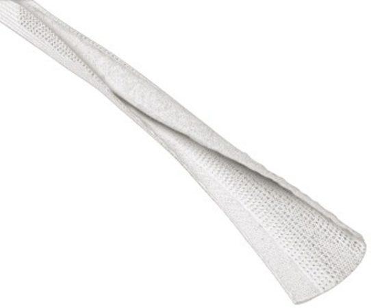 Afbeelding van Hama 00083155 Flexwrap Kabelbundel-textielslang flexwrap (l x b) 180 cm x 8 cm Wit 1 stuks