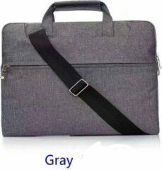 H.K. Laptop tas Grijs geschikt voor 13-14 inch