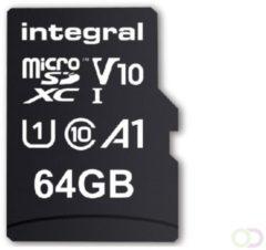 Integral INMSDX64G-100V10 flashgeheugen 64 GB MicroSDXC UHS-I