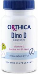 Orthica dino vitamine d kauwtabl.etten 120 st - Voedingssupplement