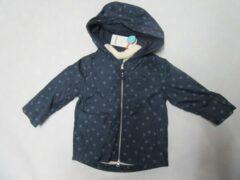 Blauwe Noukie's , zomer jas , marine met uitneembare voering , 4 jaar 104