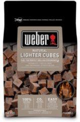Weber aanmaakblokjes - ecologisch - bruin- 48 stuks