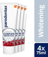 Parodontax Complete Protection Whitening Tandpasta 4 X 75 ML