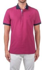 Paarse Polo Shirt Korte Mouw Navigare NV82124