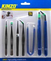 Kinzo Hobby Pincettenset - 7 st.