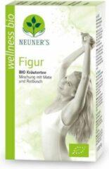 Neuner's - BIO - biologische figuur kruidenthee - Figuur - smakelijke mix van 9 kruiden, waaronder het activerende groene Mate thee en rooibos - Wellness - 1 doosje met 20 zakjes goed voor 10 liter kruideninfusie