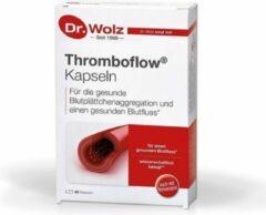 Dr. Wolz Thromboflow | Supplement voor bloedstroom en Plaatjes aggregatie | Bij lange vluchten en bij Trombose klachten | Tomaatextract en Resveratrol