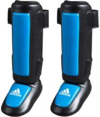 Adidas Pro Style Scheenbeschermers - Zwart Blauw - XXL