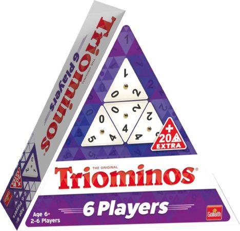 Afbeelding van Witte Goliath gezelschapsspel Triominos the Original