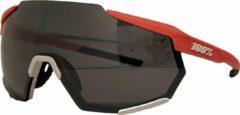 Rode 100% Racetrap Fietsbril - Soft Tact Oxyfire - Black Mirror Lens