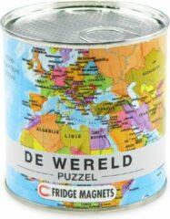 EXTRAGOODS Wereld puzzel Fridge magnets MI 100 stukken 23x33cm 2015