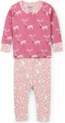 Roze Hatley 2 delige pyjama set maat 74