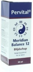 Pervital Meridian balance 12 blijdschap 30 Milliliter