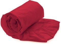 Rode Kardol & Verstraten Hoeslaken Satijn - 90x210/220 cm - Fuchsia