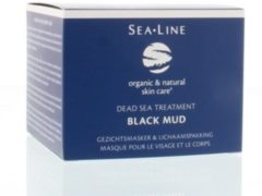 Sea-Line Black mud facial mask & body pack 225 Milliliter
