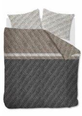 Antraciet-grijze Beddinghouse Merino - Flanel - Dekbedovertrek - Eenpersoons - 140x200/220 cm + 1 kussensloop 60x70 cm - Anthracite