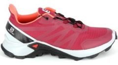 Rode Wandelschoenen Salomon Supercross Cerise
