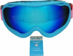 Blauwe Nihao Spencer TPU Ultra-Light frame. Ski/Snowboard Goggle