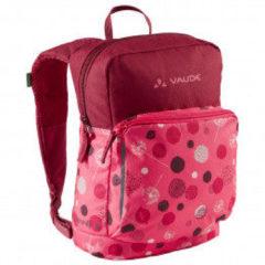Roze Vaude Minnie 5 Kinderrugzak bright pink/cranberry Kindertas