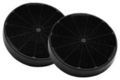 Zwarte ETNA REC10 - Afzuigkapfilter - set van 2 stuks