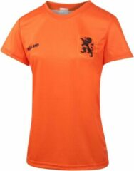 Oranje Nederlands Elftal Dames Voetbalshirt Thuis Eigen Naam EK 2021 Meisjes-Vrouwen - Leeuwinnen
