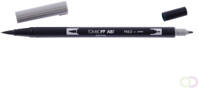 Afbeelding van Grijze Tombow ABT dual brush pen cool grey 5 ABT-N65