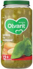 Olvarit 12m07 spinazie kip aardappel 6 x 250g
