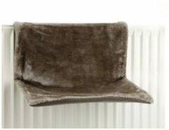 Beeztees Sleepy Radiatorhangmat - Donkergrijs - 46 x 31 x 24 cm
